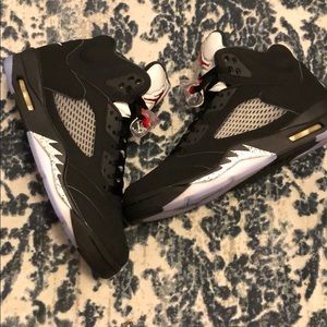 Jordan 5 Retro og Black metallic size 10 New